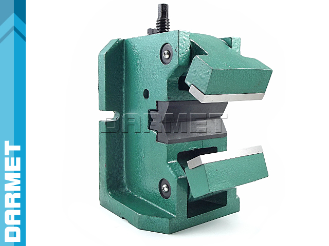Machine vise for holding shafts FQV - DARMET