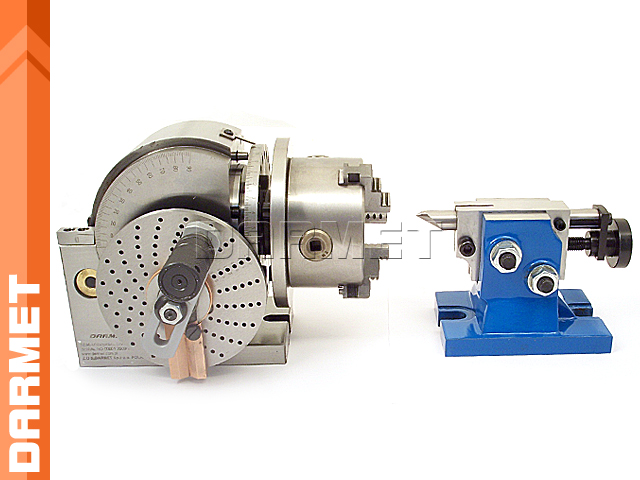 Semi-Universal Indexing Head with Tailstock (DM-2730)