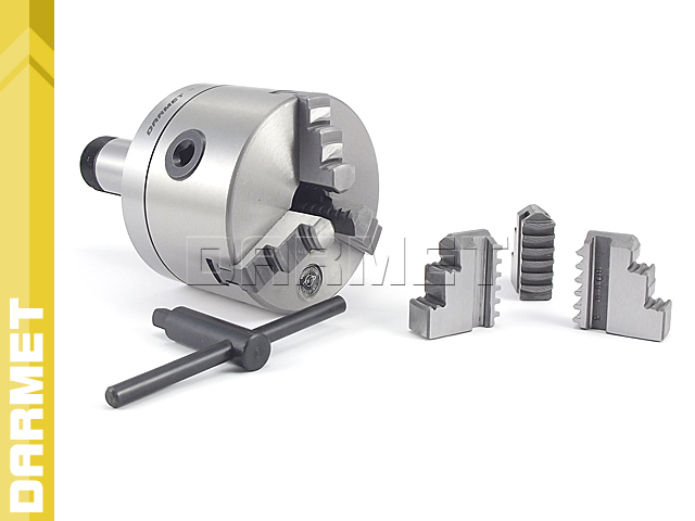 Self-Centering 3-Jaw Lathe Chuck with 5C Mounting (DM-376)