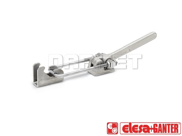 Latch clamps with trigger function GN 854