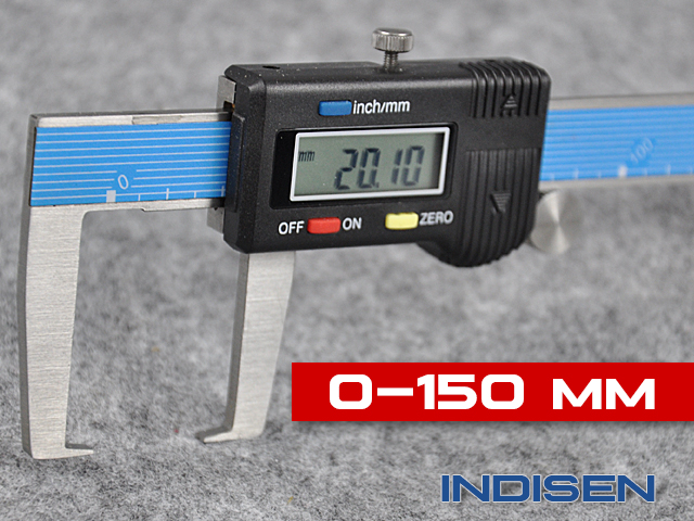 Electronic groove caliper 150MM INDISEN, type 1231